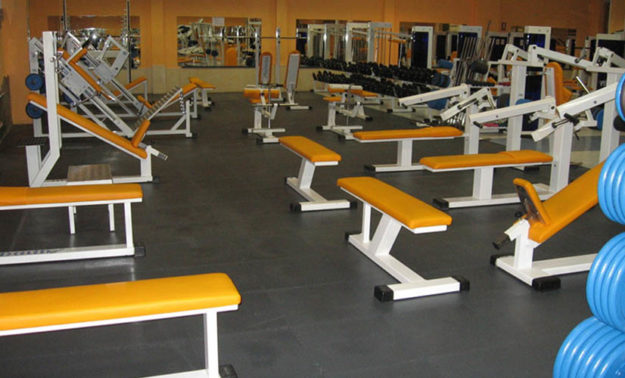 Gym floorings - PVC tiles - Traficline