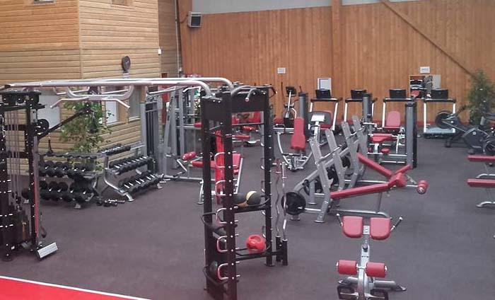 Rubber floor - gym floorings - Energy