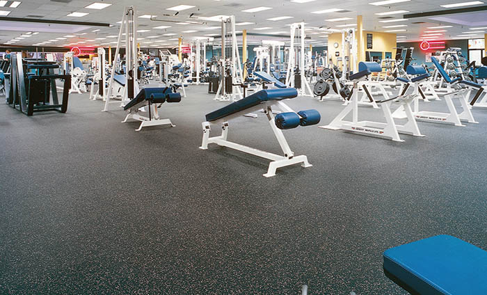 Sports flooring - recycled rubber floor - Energy