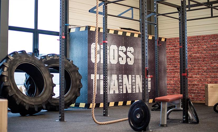 Cross training tiles---Rubber gym floorings --Energy