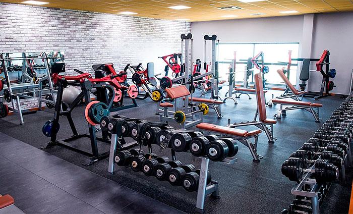 Rubber floorings---Weight rooms flooring---Energy